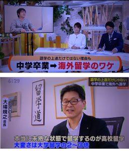 【SBSTV】に取り上げられました。「何が理由?海外高校へ進学が増加」